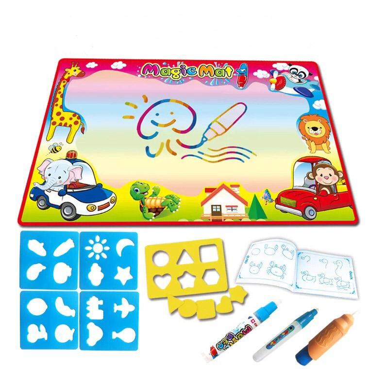 Kids Drawing Toys Board 86*57cm Water Drawing Mat With Magic Pen ...