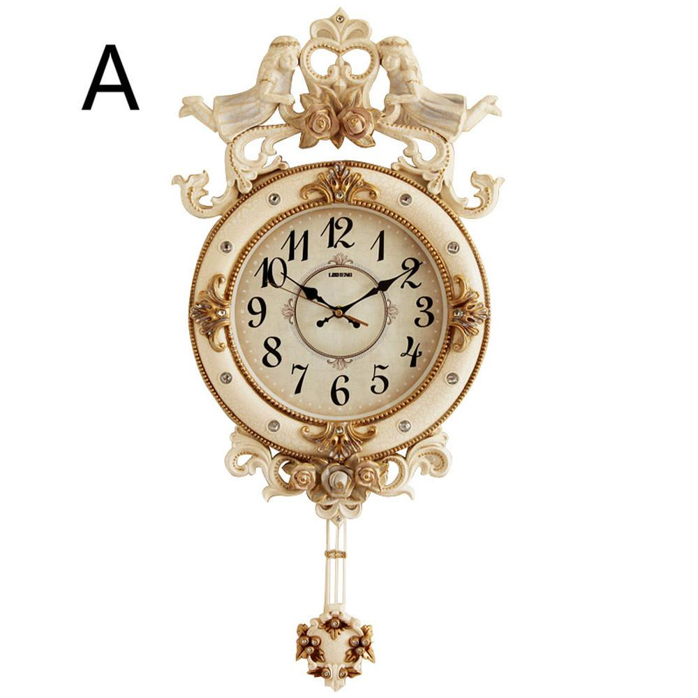 1PCS Living room large Bell European pendulum clock household clock personality fashion luxury Nordic large LU702121