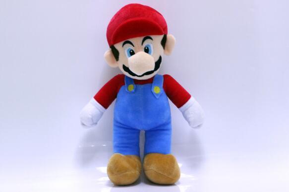 2 Stil 25-40 CM MARIO LUIGI Super Mario Bros Plüsch Puppe Stofftiere Für Baby Gute Geschenke