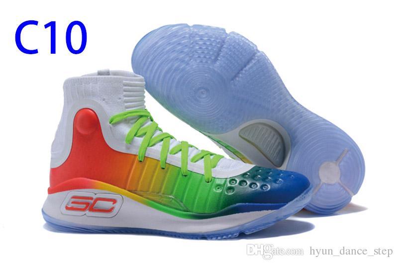 808bde611de ... Nuevo Hot Stephen Curry 4 Baloncesto Zapatos Baloncesto profesional  Juego Tendencias de la moda especial Diseño ...