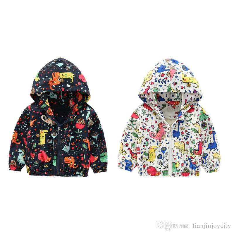 2b1d32356 2-6Yea Cute Dinosaur Spring Children Coat Autumn Kids Jacket Boys ...