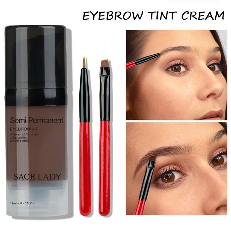 Liquid Eyebrow Dye Easy Coloring Long Lasting Effect Waterproof ...