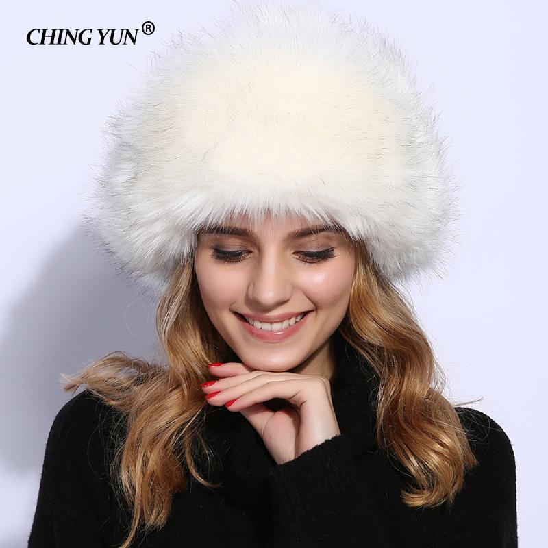 Acheter 2019 New Bomber Chapeaux Femmes Chapeau D hiver De Fourrure Chapeau  Lady Warm Mode Red Hat Fausse Fourrure Bombardier Femmes Accessoires Faux  ... 3a0d99e5550