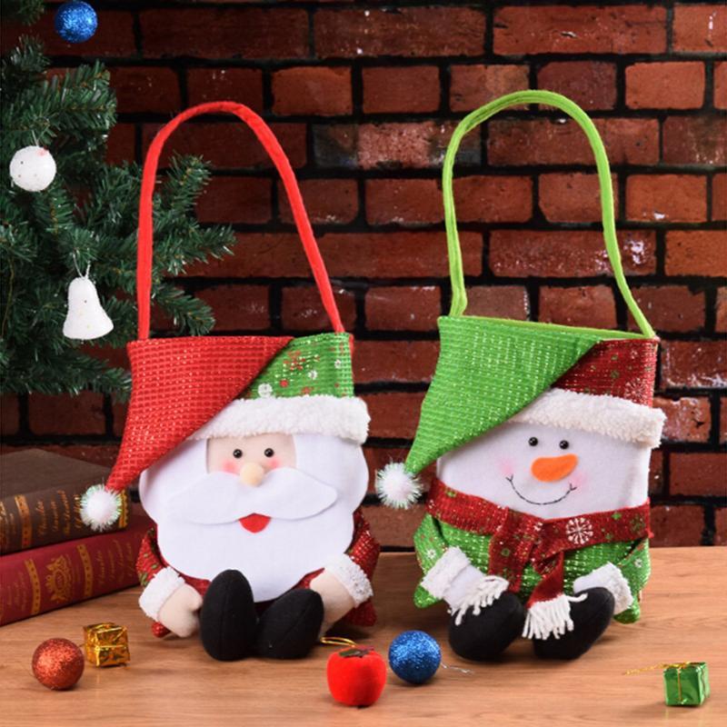 Acquista Sacchetto Regalo Di Natale Sacchetto Regalo Di Babbo Natale