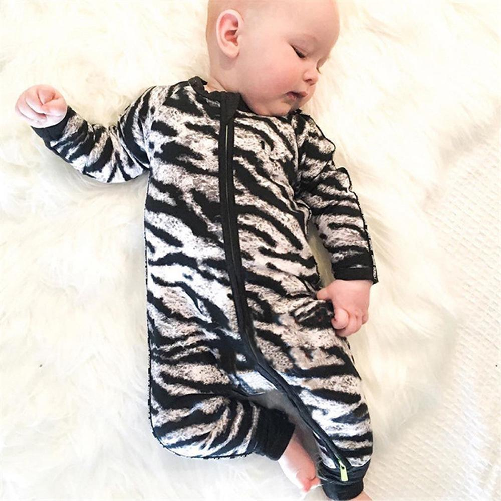 e3c9f533f26 2019 New 2018 Fashion Baby Rompers Unisex Long Sleeve Baby Overalls Ropa  Bebes Pajamas Newborn Toddlers Baby Boys Girls Clothes From Yangwanju