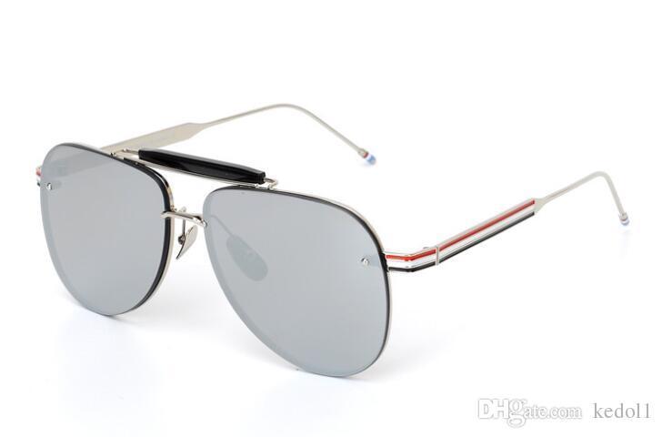 50e3cc611bf 2019 Thom Big Oversized Sunglasses Man Woman Yellow Mens Sunglasses ...