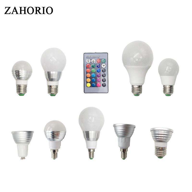 24 Keys Ir Remote Control At Any Cost Led Bulbs Rgb Led Bulb E27 E14 16 Color Changing Light Candle Bulb Rgb Led Spotlight Lamp Ac85-265v Lights & Lighting