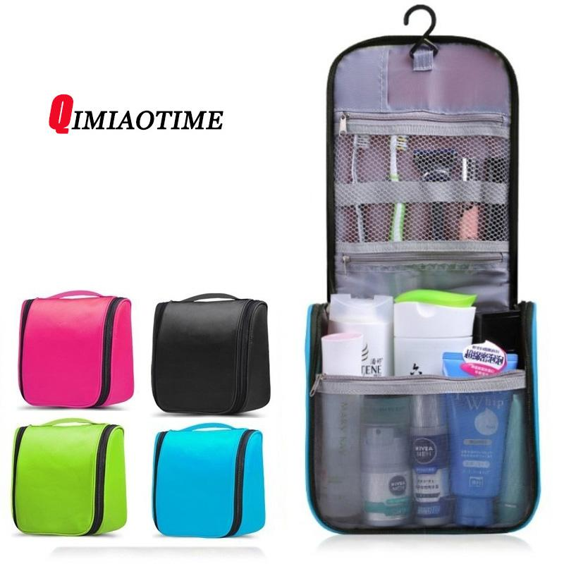 New Neceser Portable Cosmetic Bag Hanging Organizer Makeup Bag Women S  Bathroom Shower Toiletry Washing Travel Makeup Kit Travel Bags Beach Bags  From ... cd1a52fd3fe19