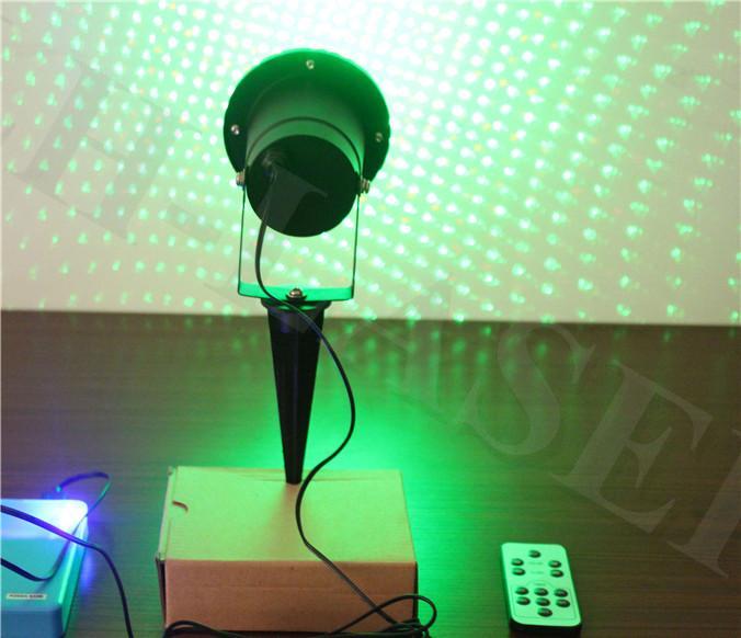 Lazer impermeabile all'aperto del laser delle luci laser del giardino del proiettore stellato di spettacolo di luci laser del cielo stellato con il telecomando