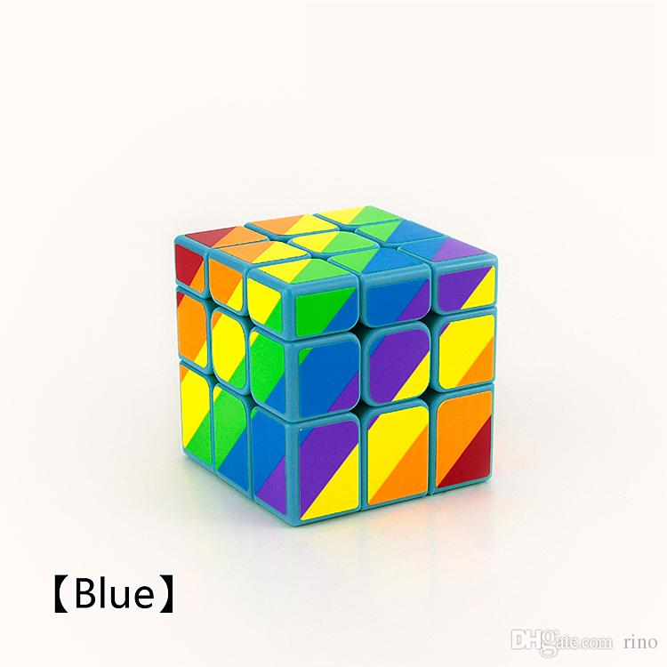 Magic Cube Toys Puzzle Magic Twist Game Toys Unequal Magic Cube Adult and Children Colorful Learning Educational Toys Gifts