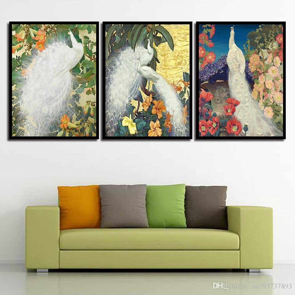 nordic posters minimalism nursery hd prints the peacock wall art