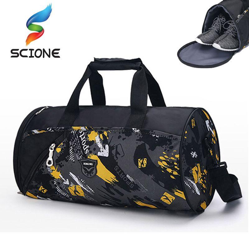 2019 2018 Hot Men Sports Gym Bags Brand Waterproof Outdoor Women Luggage  Travel Handbag Men S Sports Shoulder Bags Yoga Duffle Bag From Shinyday 550c70e30c8de