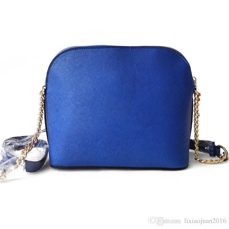 الحرة الشحن الجديدة نسائية حقائب الأوروبية والأمريكية أزياء قذيفة حقيبة PU15 سلسلة لون الذهب / عدد كبير من الخصومات