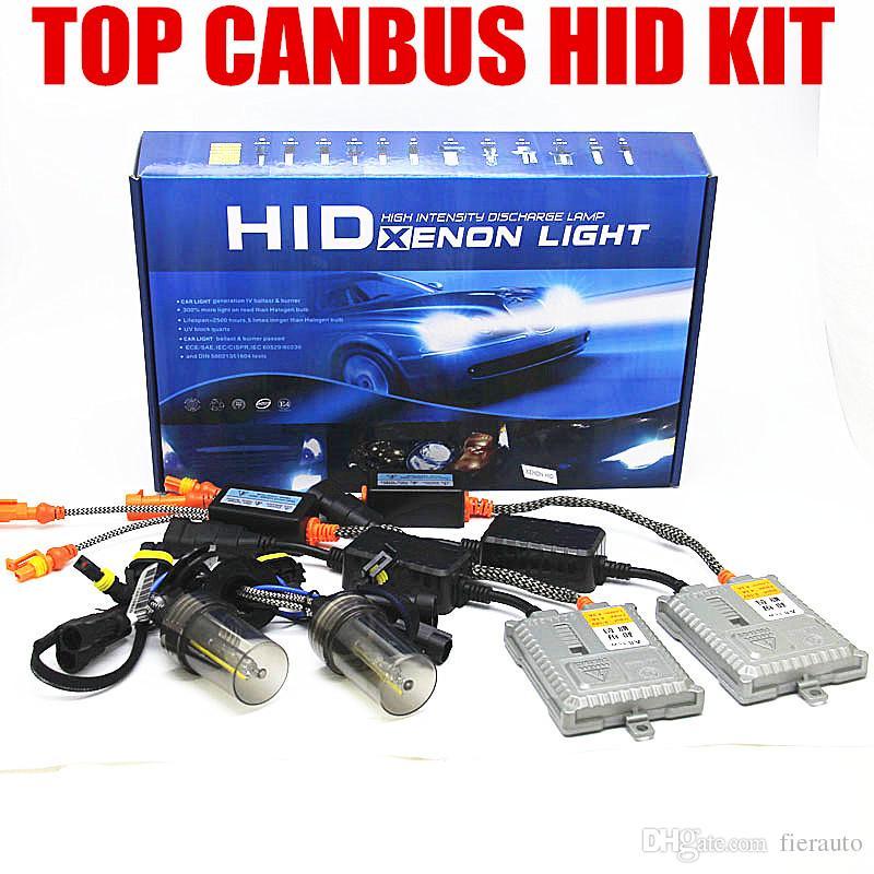 CANBUS HID XENON 35W canbus HEADLIGHT KIT error free BALLAST Bulbs H1 H3 H7