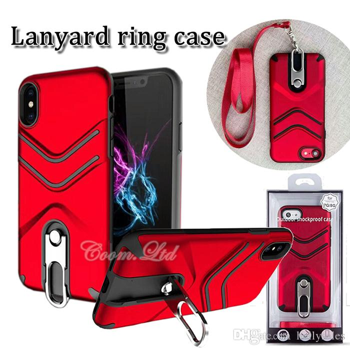 3 In 1 Out Door Shockproof Case Lanyard + Metal Ring + Hybrid Case Pc+Tpu Hard Cellphone Case Back Cover For Iphone X Samsung S8 Plus Otter Cell Phone Cases ...  sc 1 st  DHgate.com & 3 In 1 Out Door Shockproof Case Lanyard + Metal Ring + Hybrid Case ...