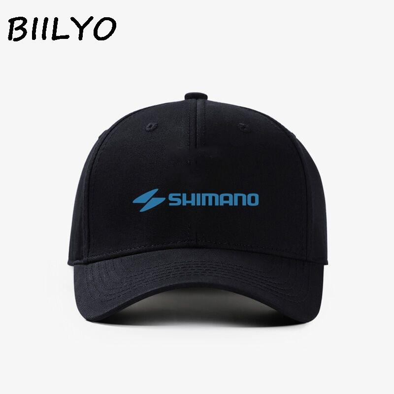 49b8d503c38 2018 SHIMANO Fishing Logo Print Men Women Baseball Cap Hat Trucker Cap  Snapback Caps From Duweiha