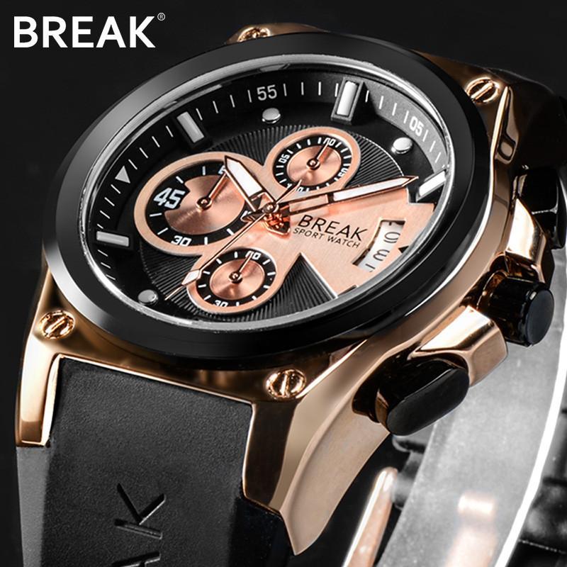 622e3add1e729 Acheter Pause Nouvelle Montre Hommes Tout Mâle Montres Hommes Étanche Sport  De Mode Casual Étudiant Quartzwatch Lumineux Mains Horloge Relogio De  $45.36 Du ...