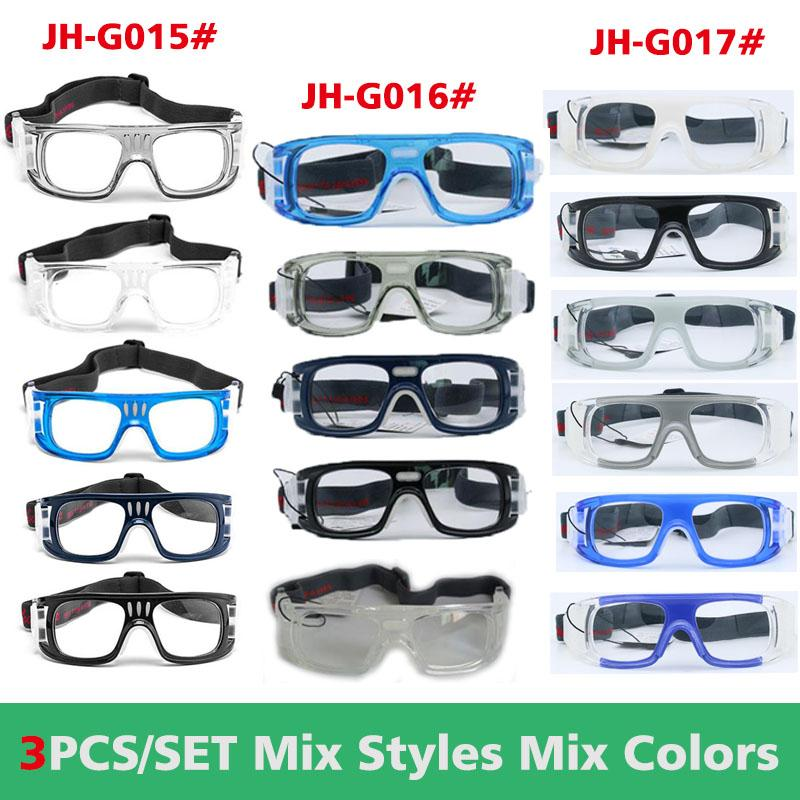 16b7ed6b8b Quality Sports Glasses Safety Goggles Basketball Football Glasses Hockey  Rugby Soccer Anti-impact Frame Can Replace Optical Lens Protective Goggles  Sports ...
