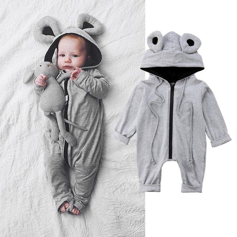 320a64abd27a 2019 Kids Toddler Baby Boys Girls Clothes Infant Lovely Kangaroo 3D ...