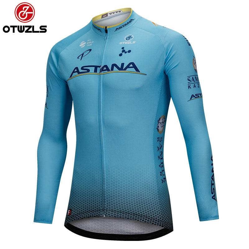 Cycling Jersey 2018 Men Cycling Clothes Long Sleeve Top Bicycle ... 08b565537
