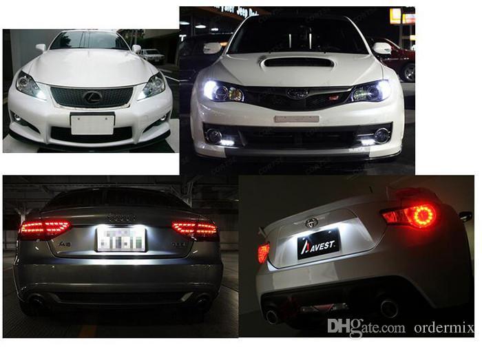 السيراميك سيارة الداخلية led t10 البوليفيين w5w 168 إسفين الباب صك الجانب لمبة مصباح ضوء السيارة لوحة ضوء أبيض / أزرق / أخضر / أحمر / أصفر