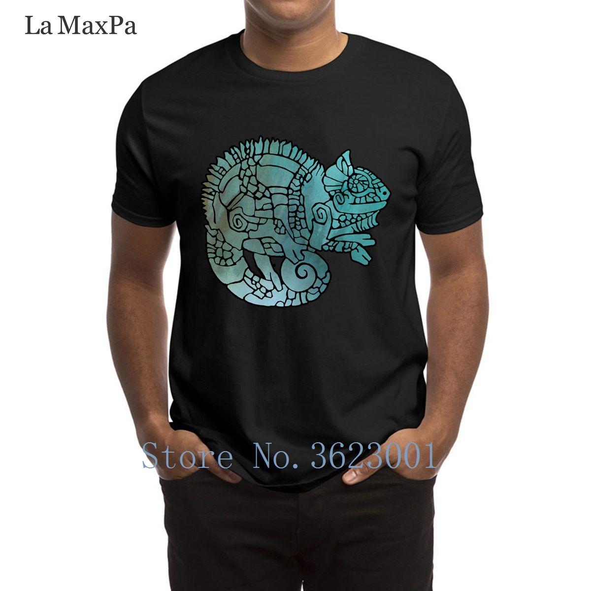 36336827 Print Cool T Shirt Chameleon In Ethnic Decorative Ornamental Manner T Shirt  Man Weird Sunlight Tshirt Man Better Tee Shirt Man Ordering T Shirts Rude T  ...