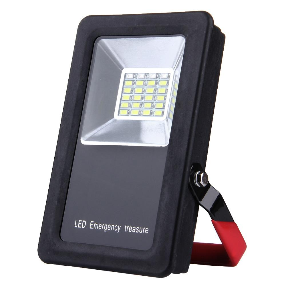 e327ac31bc8 Mini Portable Floodlight 30W 24 LEDs USB Charging Battery Powered Spot Light  SMD5730 2400LM IP65 Waterproof LED Flood Light Lamp Outdoor Flood Lights Led  ...