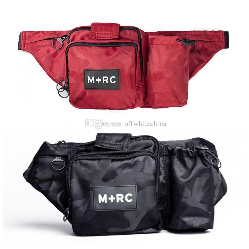 ed6e474096 M+RC NOIR RR Waist Bag Messenger Bags Crossbody Shoulder Bag Men Fanny Pack  Designer Men Waist Pack Letter Bags Waist Purse Fashion Fanny Pack From ...