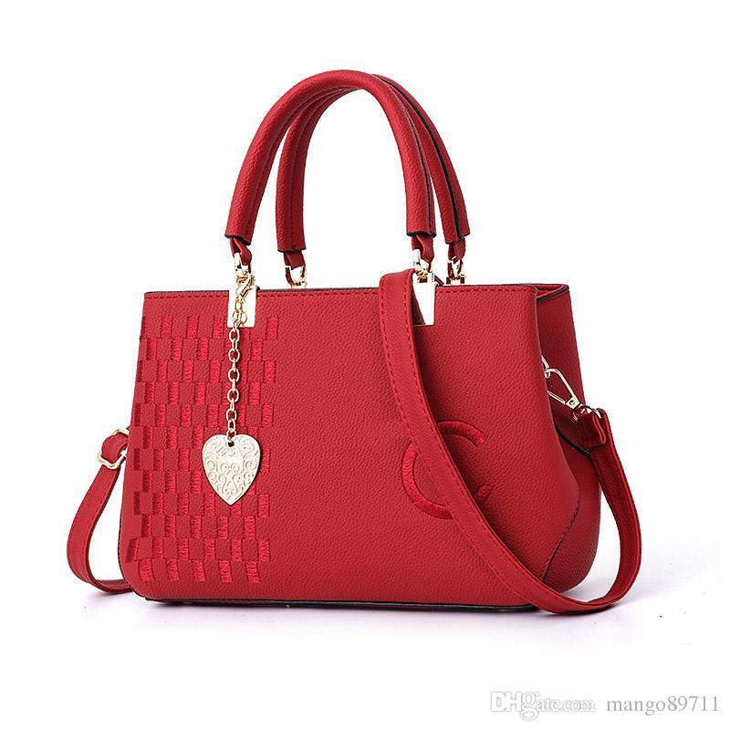 Bolso La Luxuy Bolsos Personalizado Diagonal Mujer Cuero Ch De Mano Lady Marca 3RAL5jq4