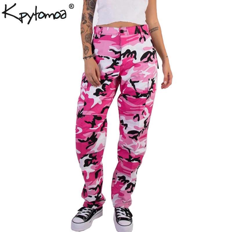 Compre Naranja Rosa Camuflaje Pantalones De Carga Hombres Mujeres 2018 Alta  Calidad Hip Hop Streetwear Pantalones Joggers Pareja Camo Pantalones De  Chándal ... a5c3da5060d