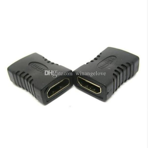 High quality HDMI Female to Female F/F Coupler Extender Adapter Extension Connector for HDTV HDCP 1080P