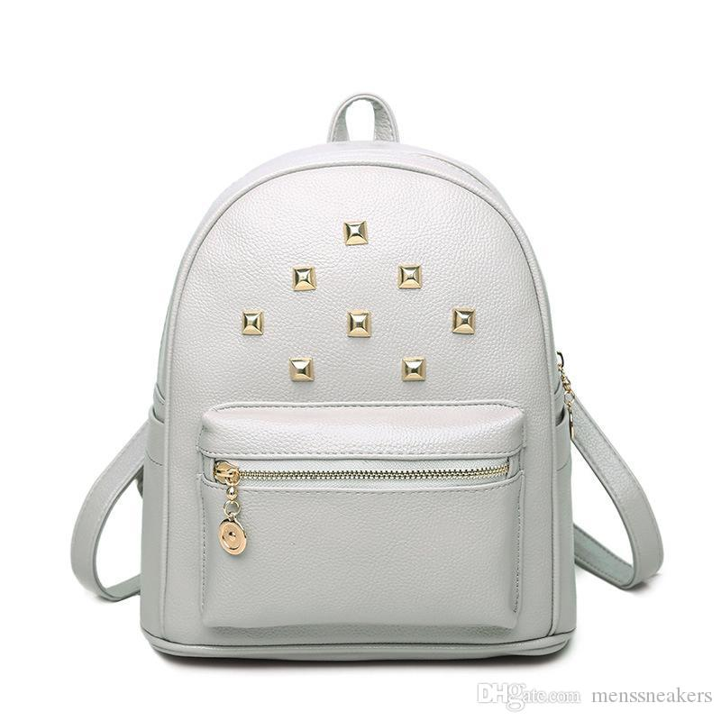 9acfa1ba42 Leather High Quality 3 Size 2018 Luxury Brand Men Women S Backpack Famous Backpack  Designer Lady Backpacks Bags Women Men Back Pack Girls Backpacks ...