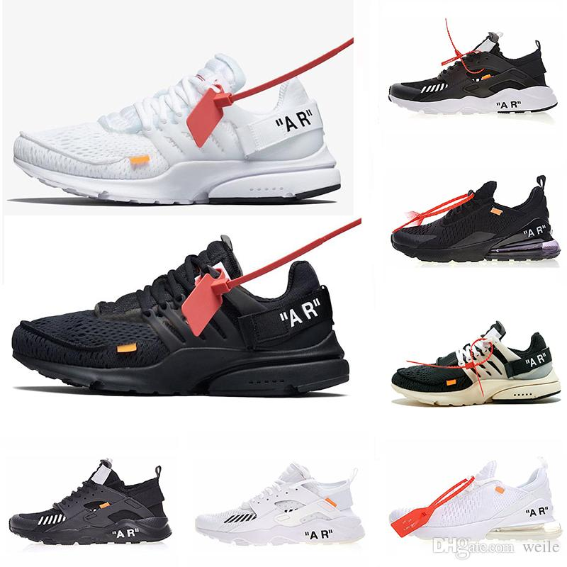 2019 ACE Air With Shoelace Off Presto Mens Women Running Shoes ... 424d5e94b