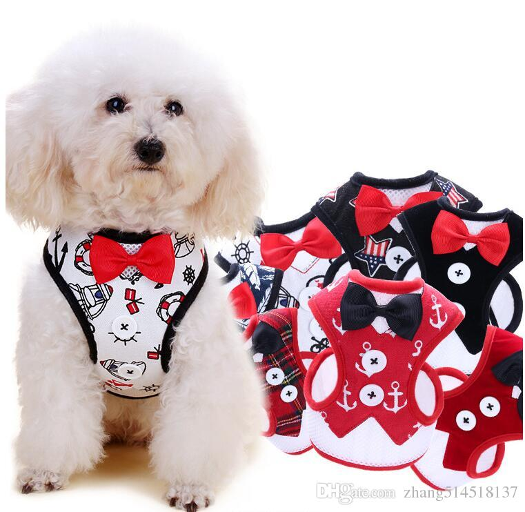 2019 Pet Walking Harness And Leash Set For Small Dog Cat Fashion Bow