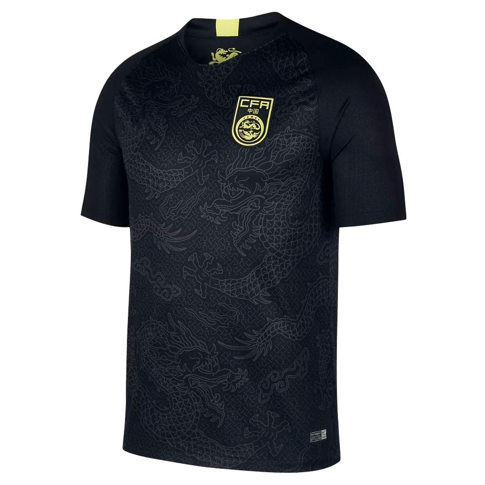 separation shoes e88d6 0f4b7 The 2018 national football Home Jersey Thai version of the Chinese national  team black dragon Jersey national football uniform.