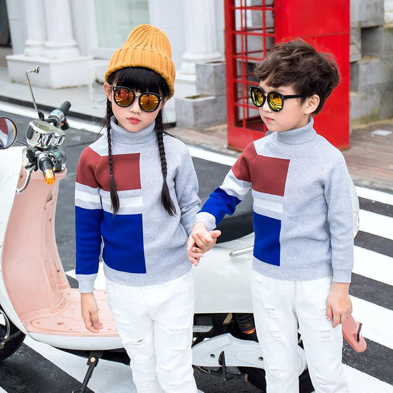 XiaGuoCai 2017 Family Matching Outfits Father Mother And children baby sweater warm Couples clothing Dad Mom Kids fashion A26 27