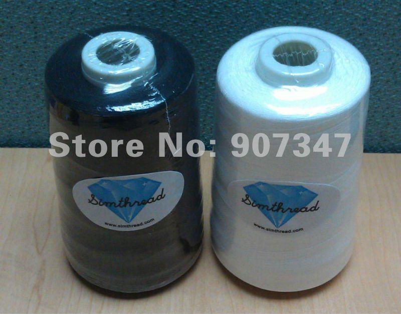 75D/2 bottom thread bobbin fill embroidery yarn 60WT for machine embroidery  sewing thread 5000m/cone+free shipping