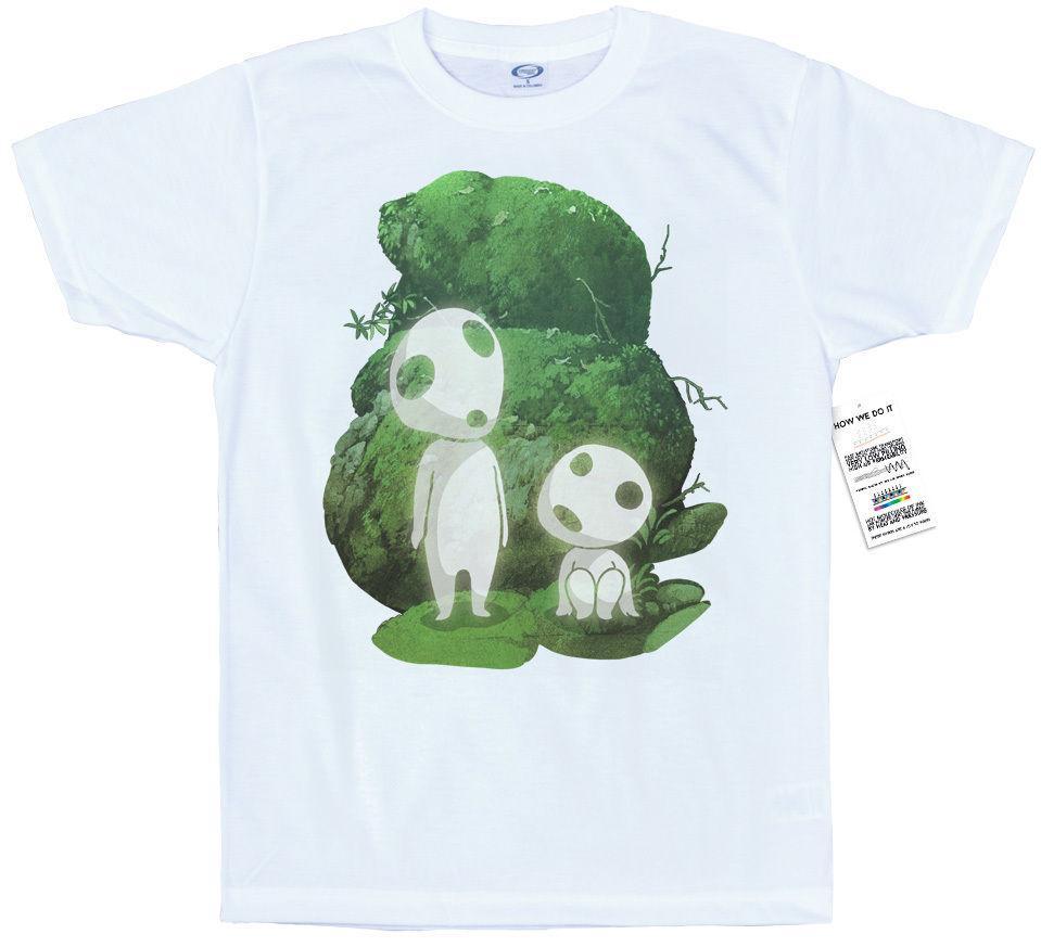 Kodama T Shirt Design Tree Spirits Princess Mononoke T Shirt