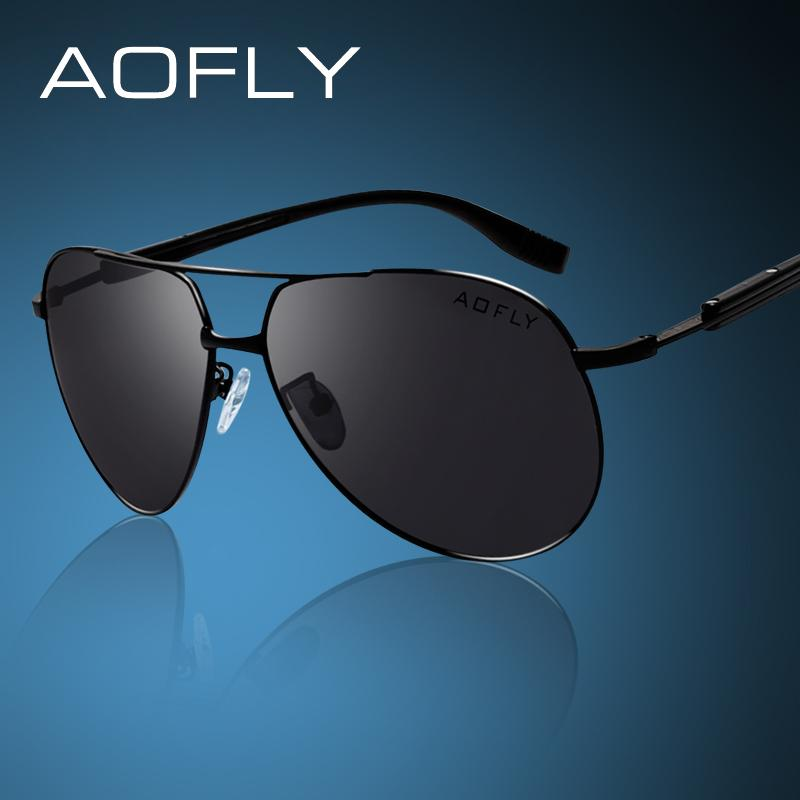 40c374f177 AOFLY Brand HD Polarized Sunglasses Men Male Polaroid Sun Glasses Brand  Design Driving Sunglasses Goggle Classic Eyewear Designer Glasses Sunglasses  Uk From ...