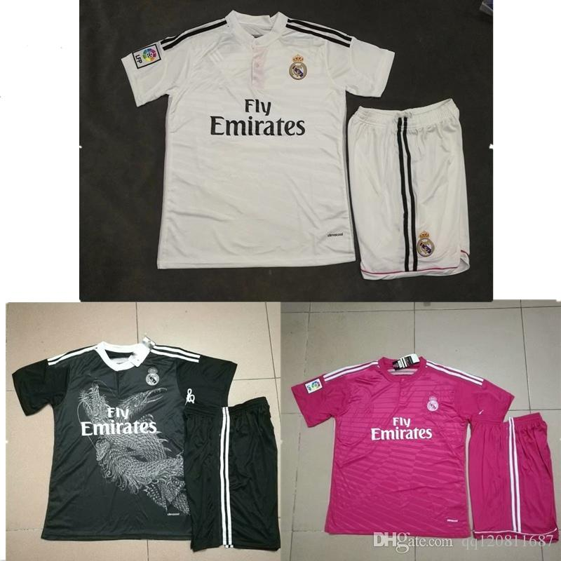 02791ff90 2019 14 15 Real Madrid Ronaldo Jersey Bale Benzema Home AWAY 3rd Soccer  Shirt SERGIO RAMOS KROOS MARCELO Sports Football Uniform From Qq120811687
