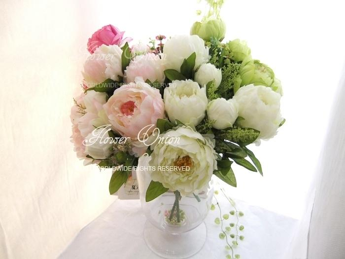 Artificial Peony Flower Bouquet for Bridal Wedding Banquet Party ...