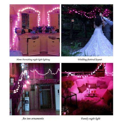 40led Christmas Wedding Xmas Party Garden Decor Outdoor Fairy String