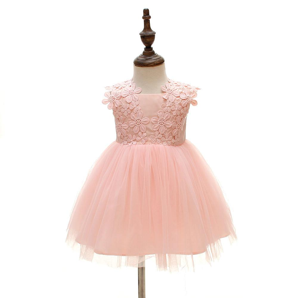 c53e9a8e83c8 2019 1 Year Birthday Baby Girl Dresses For Baptism Infant Princess ...