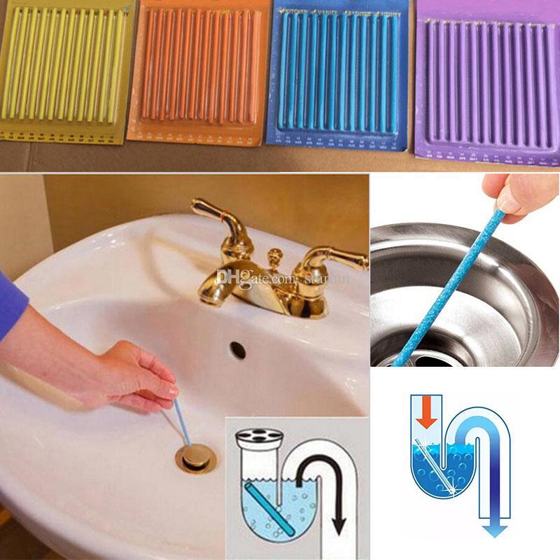 Sani Stick Conduit Bathtub Sewer Decontamination Sticks Cleaning ...