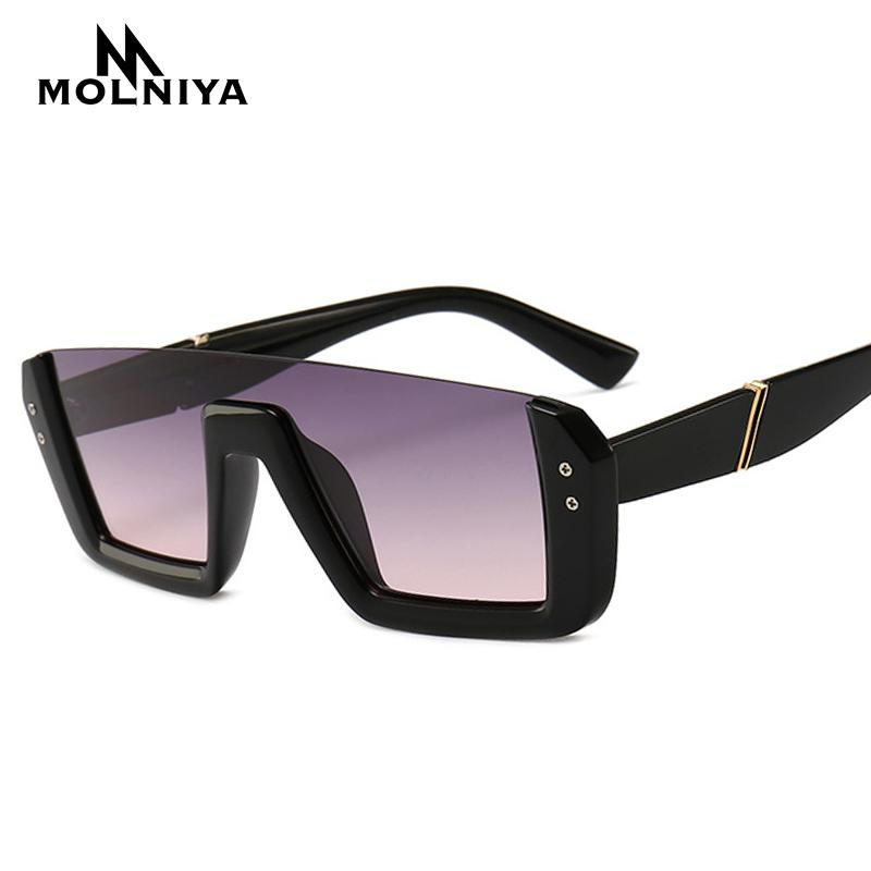 01a0ae1c42c86 Compre 2019 Mais Novo Semi Rimless Óculos De Sol Das Mulheres Designer De  Marca Rebite Gradiente Óculos De Sol Para As Mulheres Da Moda Do Vintage  Oculos ...