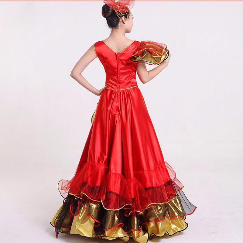 dc8ccdc65 Vestido Flamenco Falda Flamenca Disfraces de Mujer Disfraz Disfraz