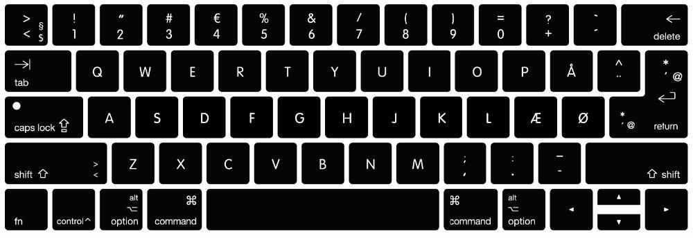 df2ec3a71173 Universal US EU Euro Keyboard Cover For 2016 MacBook Pro Retina 13 15  Danish German Greek Japanese Korean Swedish Thai Swiss