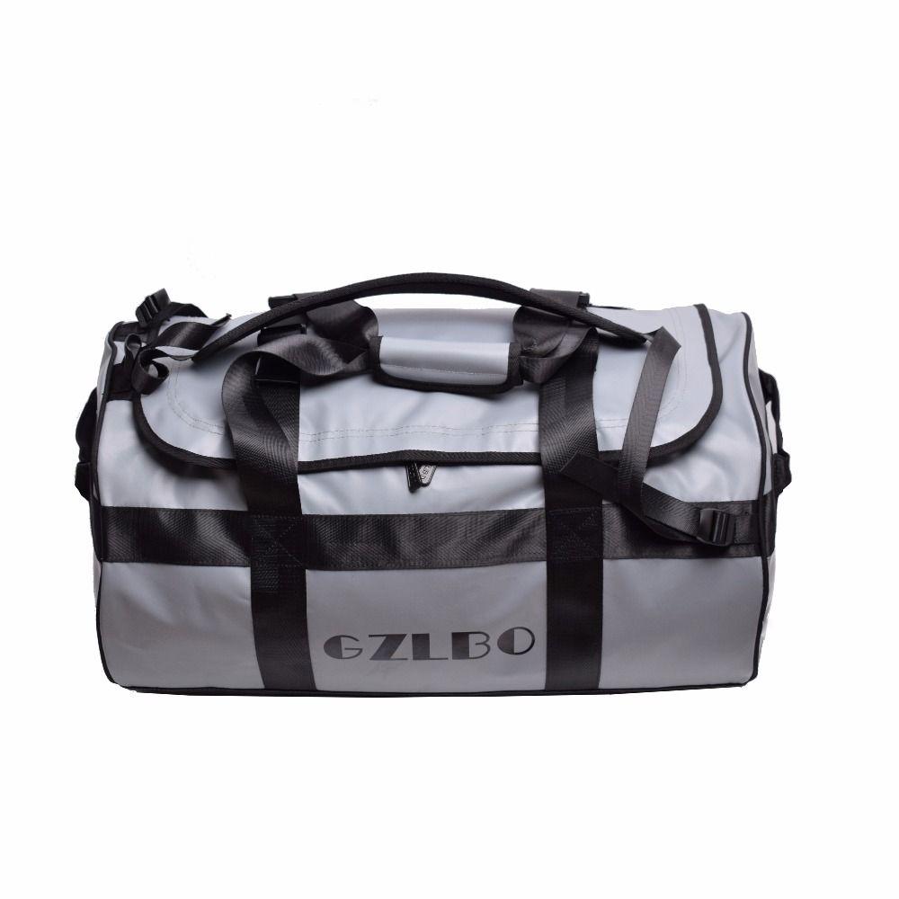 GZLBO 65L Popular PVC Waterproof Bag Grey Travel Bag Waterproof Duffel Bag  Online with  168.74 Piece on Bag80555 s Store  0112c838e11f9