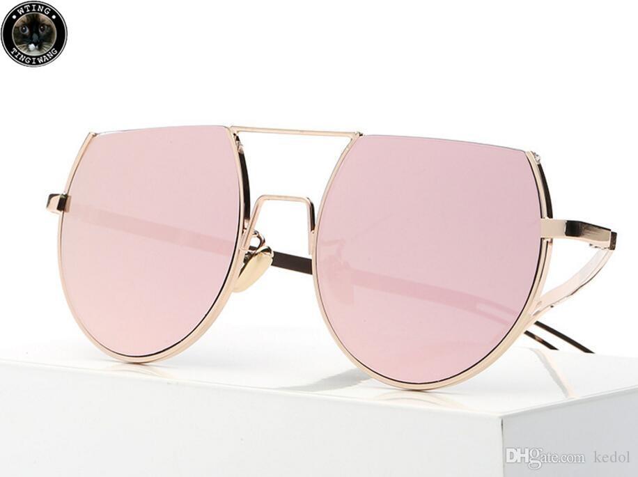 2018 New Half Frame Sunglasses, Women\'S Hot Air, Men\'S And Women\'S ...