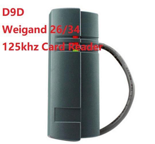 10Sets Wiegand 26/34 bit 125khz RFID Smart Card Reader Access Control  System EM/ID Card Reader Free Ship